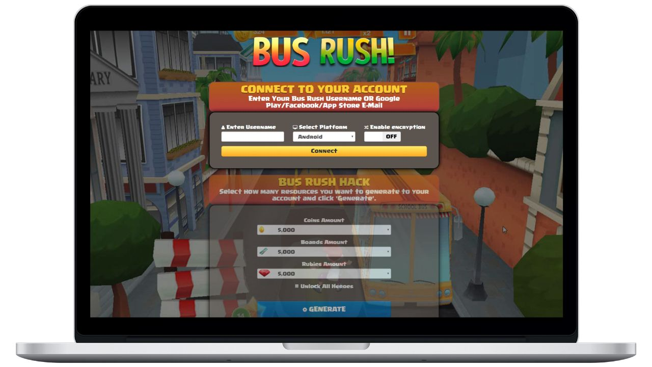 Bus Rush hack coins generator