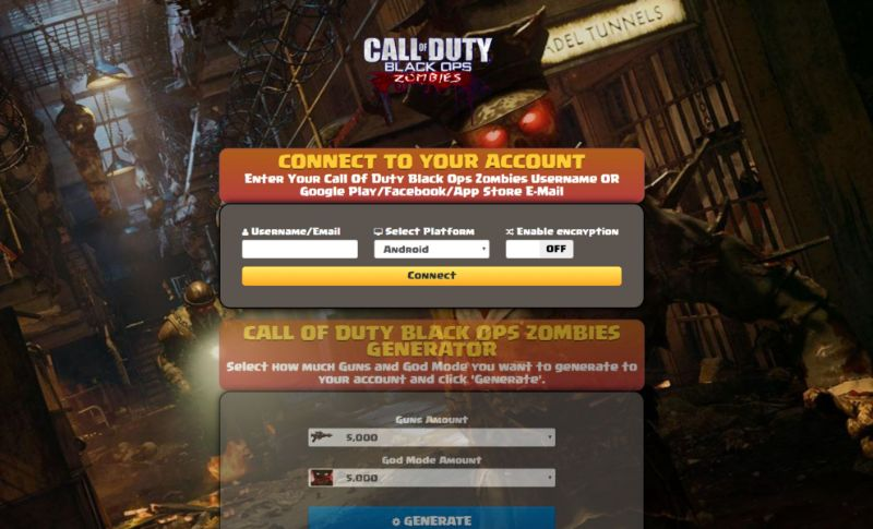 Call Of Duty: Black Ops - Zombies hack 2020