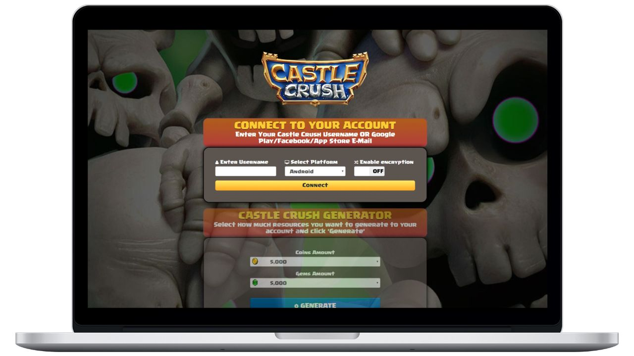 Castle Crush hack coins generator