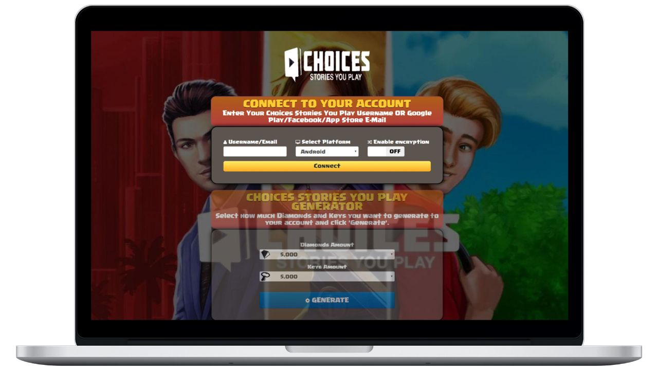 Choices: Stories You Play hack diamonds generator
