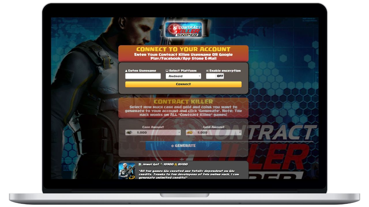Contract Killer Hack 2019 - Online Cheat For Unlimited Cash