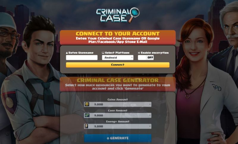 Criminal Case hack 2019