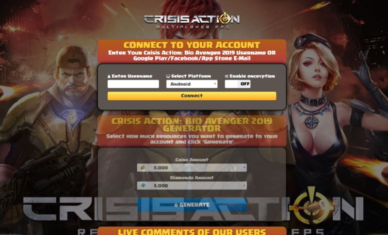 Crisis Action: Bio Avenger hack 2020