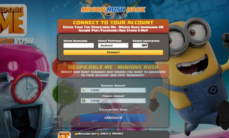 Despicable Me hack 2019