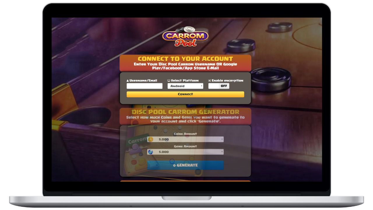 Disc Pool Carrom hack coins generator