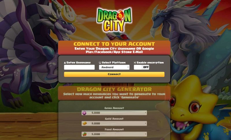 Dragon City hack 2019