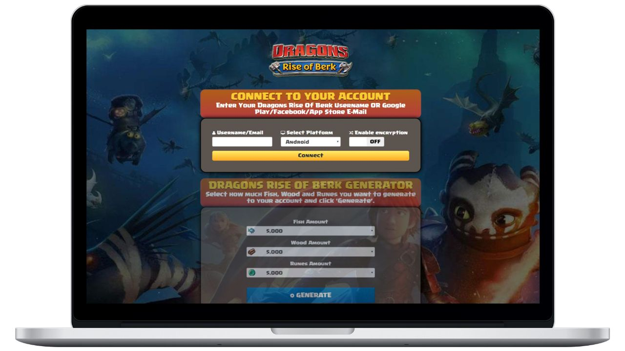 Dragons Rise Of Berk hack fish generator