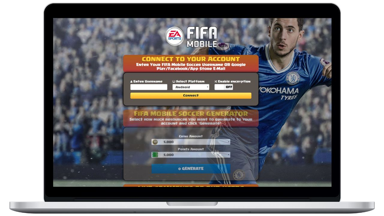 FIFA Mobile Soccer hack coins generator