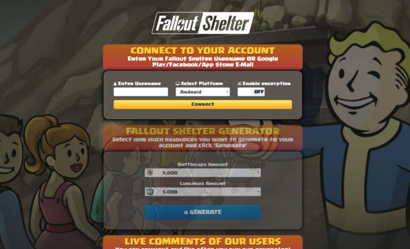 Fallout Shelter hack 2019