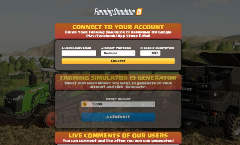 Farming Simulator 19 hack 2019