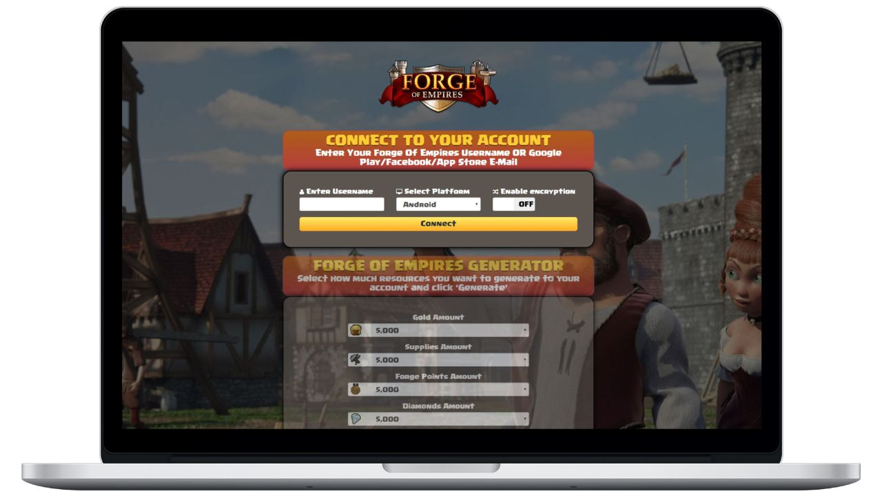 Forge Of Empires hack gold generator