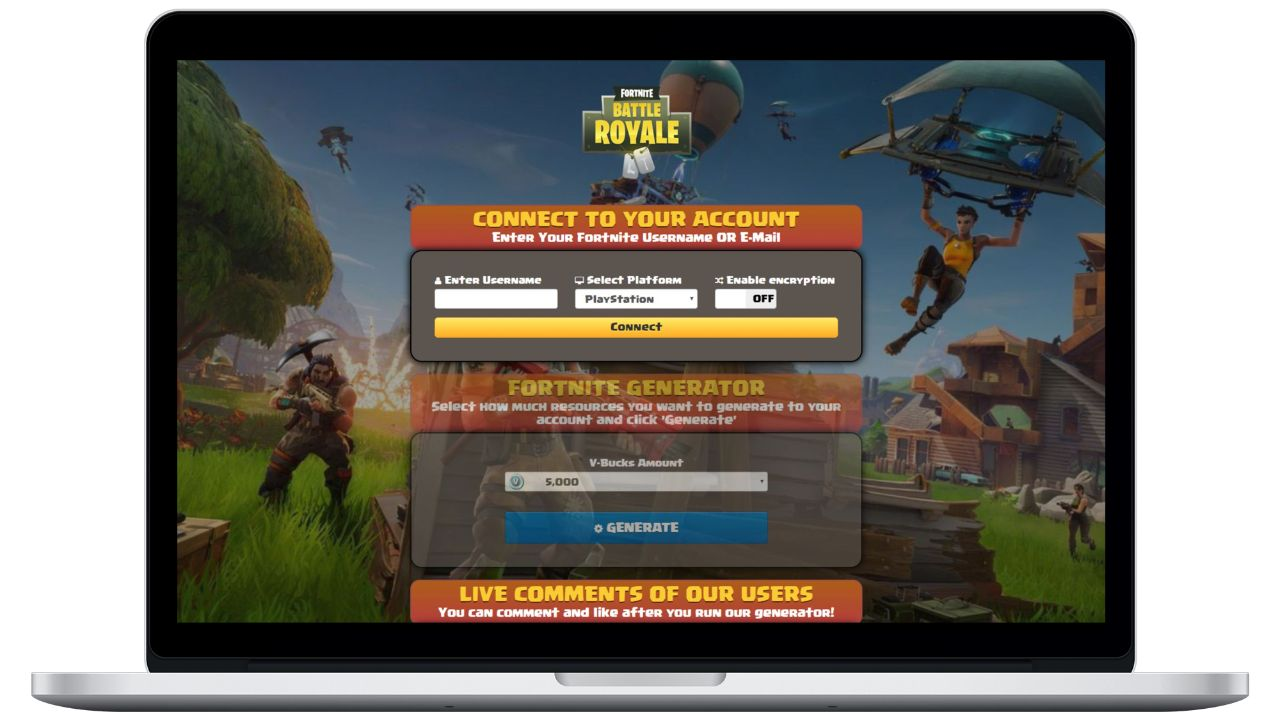 Fortnite hack v-bucks generator