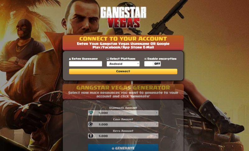 Gangstar Vegas hack 2019