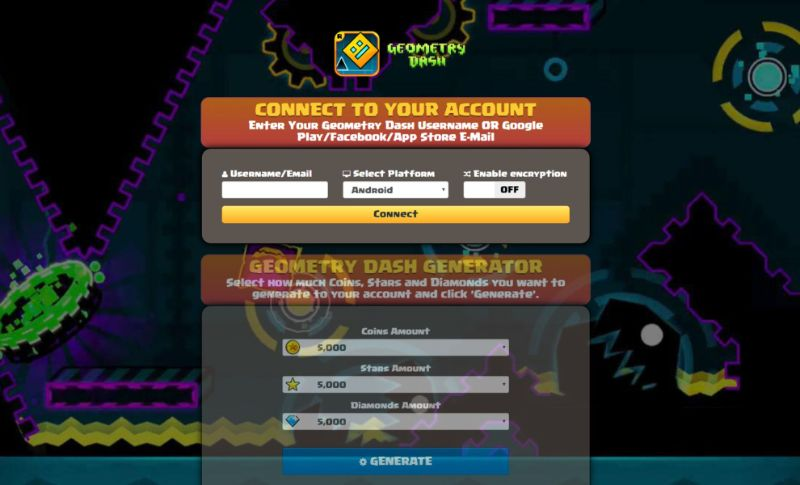Geometry Dash hack 2019