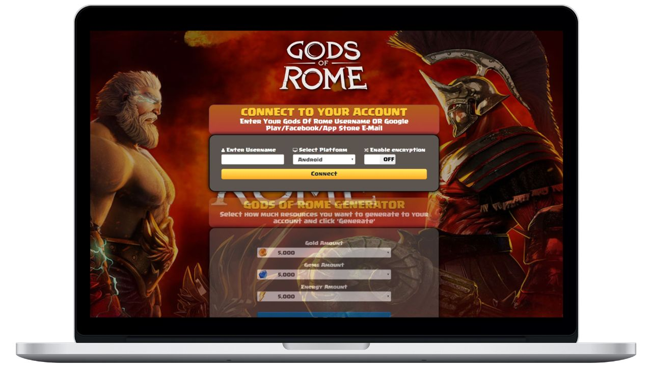 Gods Of Rome hack gold generator