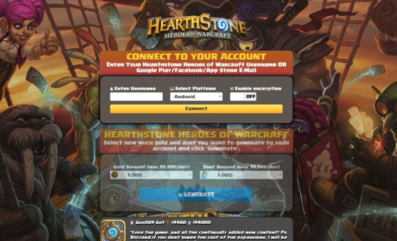 Hearthstone Heroes of Warcraft hack 2020
