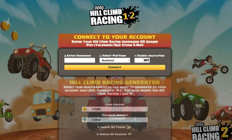 Hill Climb Racing 2 hack 2020