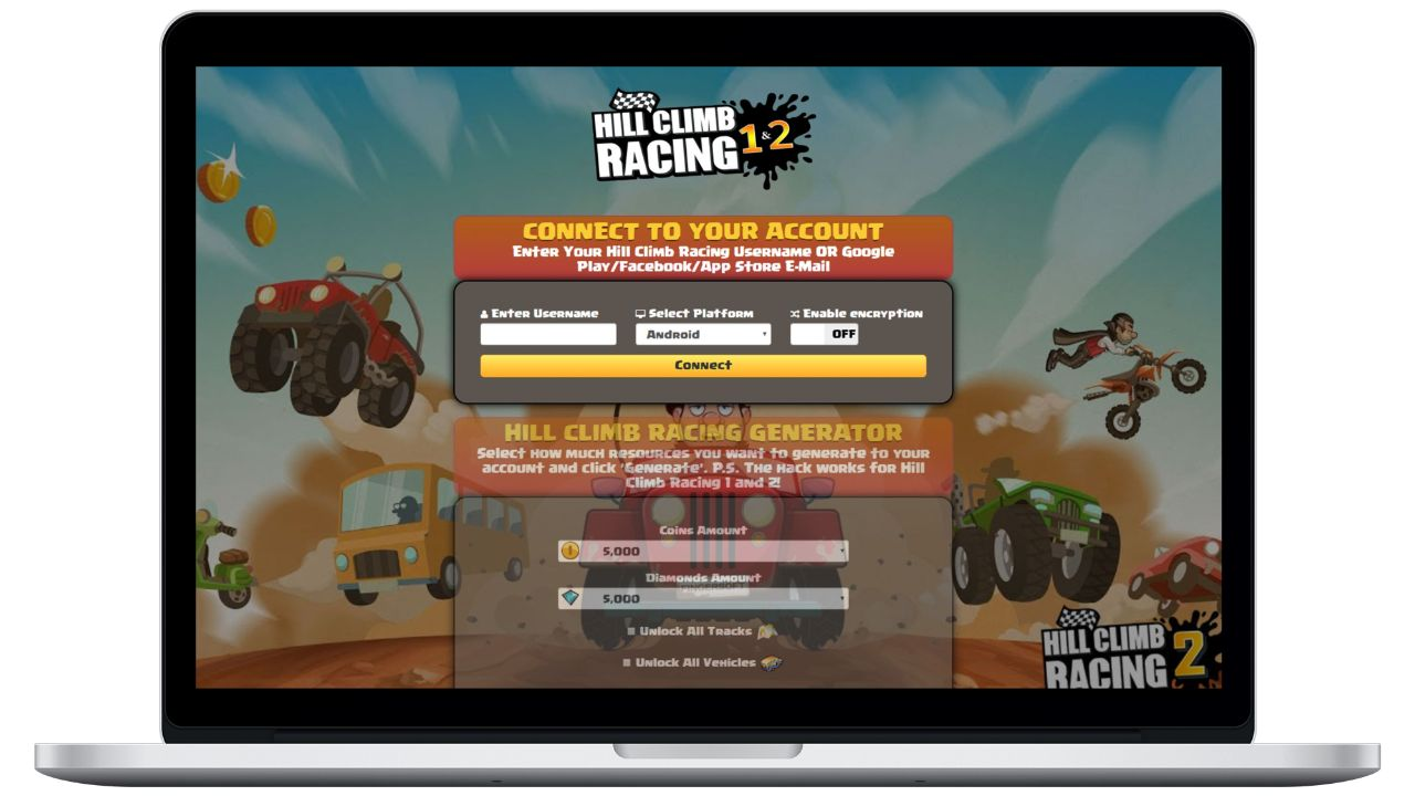Hill Climb Racing 2 hack coins generator