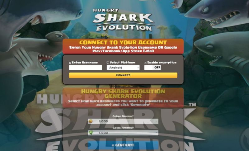 Hungry Shark Evolution hack 2020