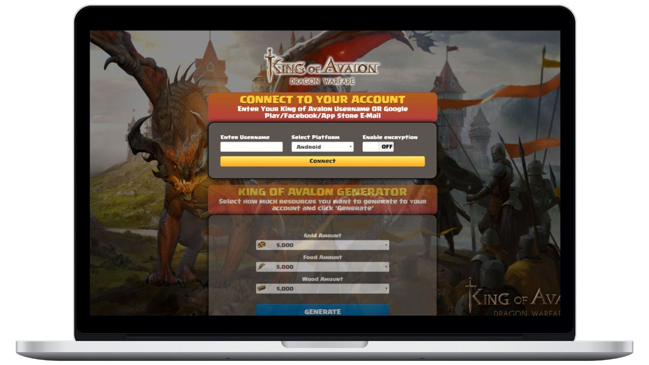 King Of Avalon hack gold generator