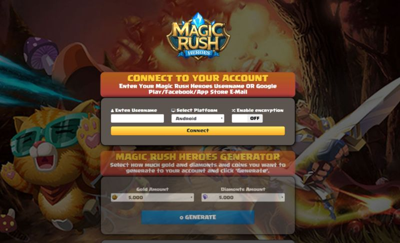 Magic Rush Heroes hack 2019
