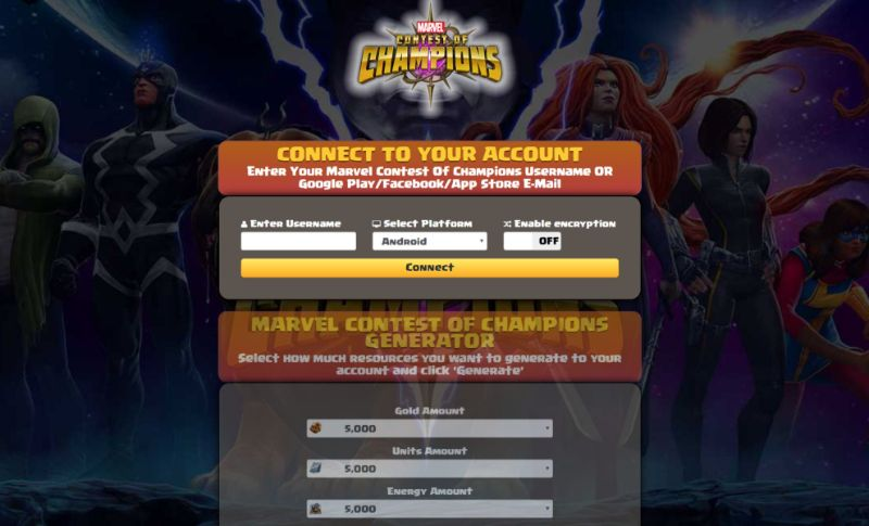 Marvel Contest of Champions hack 2019