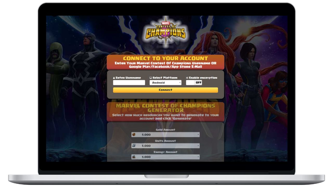 Marvel Contest of Champions hack gold generator