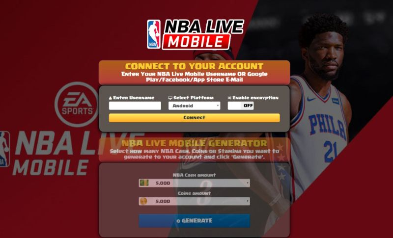 NBA Live Mobile hack 2019