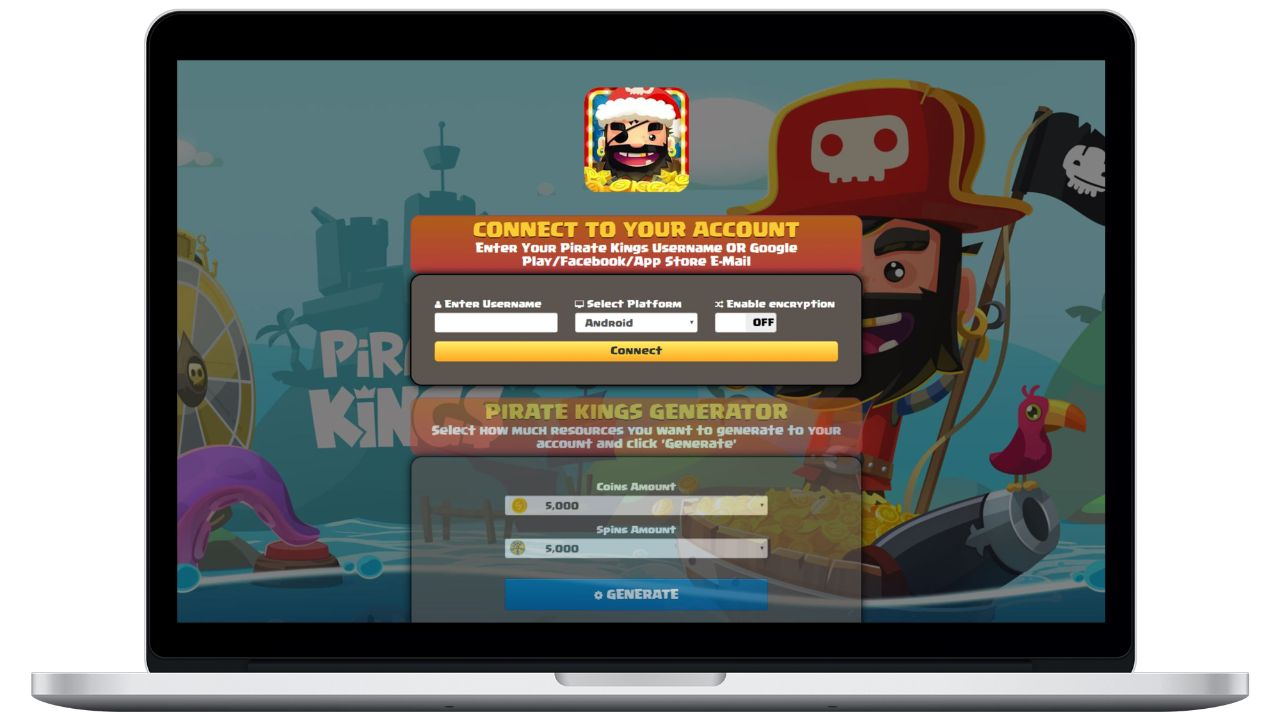 Pirate Kings hack coins generator