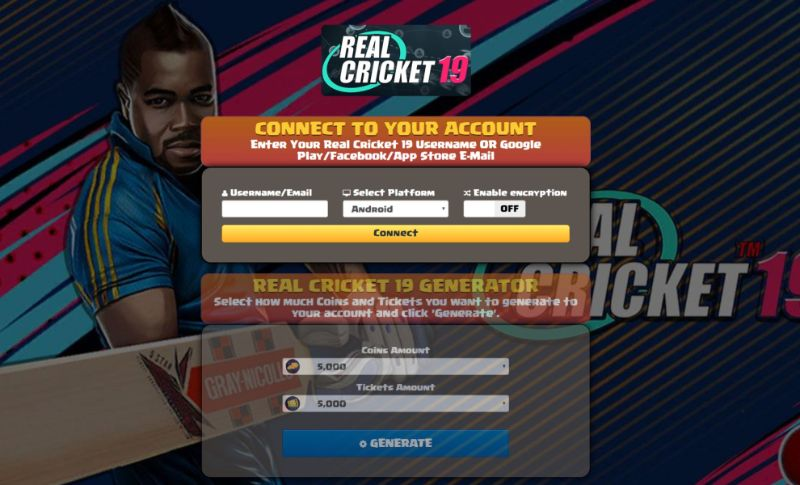 Real Cricket 19 hack 2020