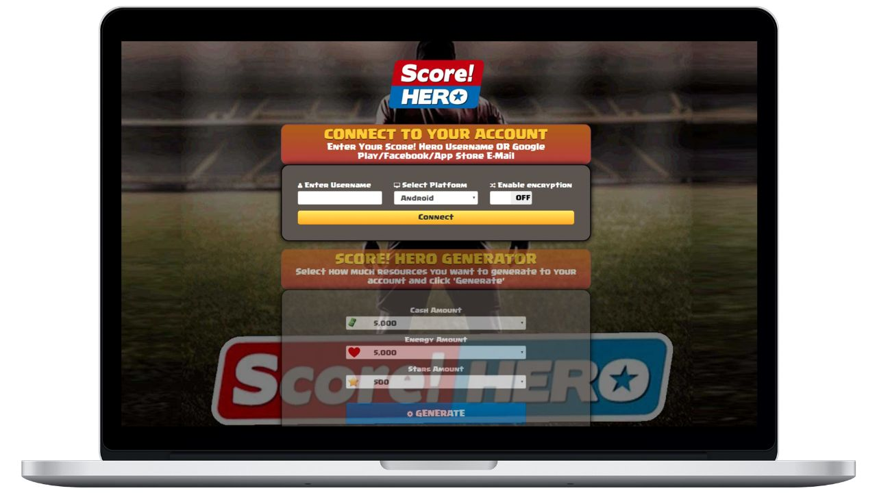 Score Hero hack cash generator
