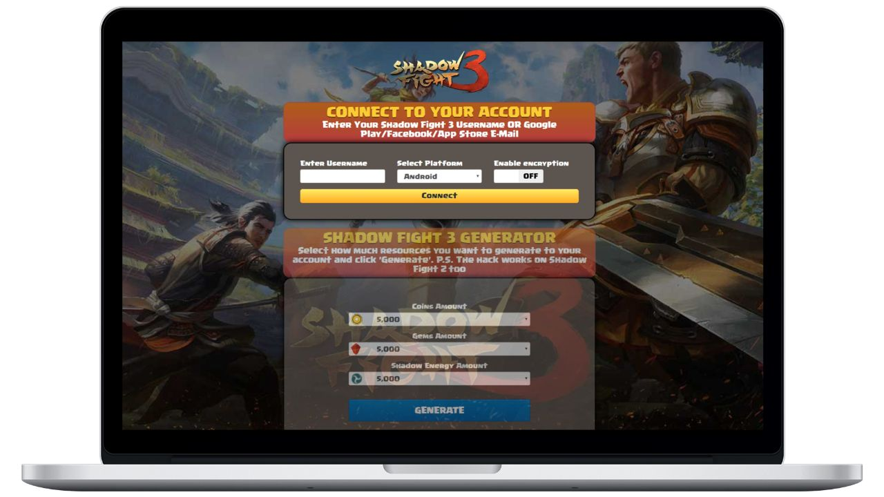 Shadow Fight 3 hack coins generator