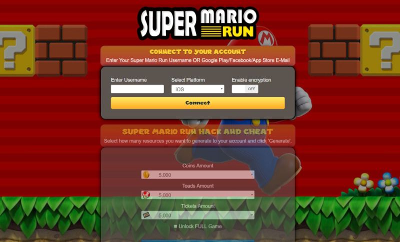 Super Mario Run hack 2020