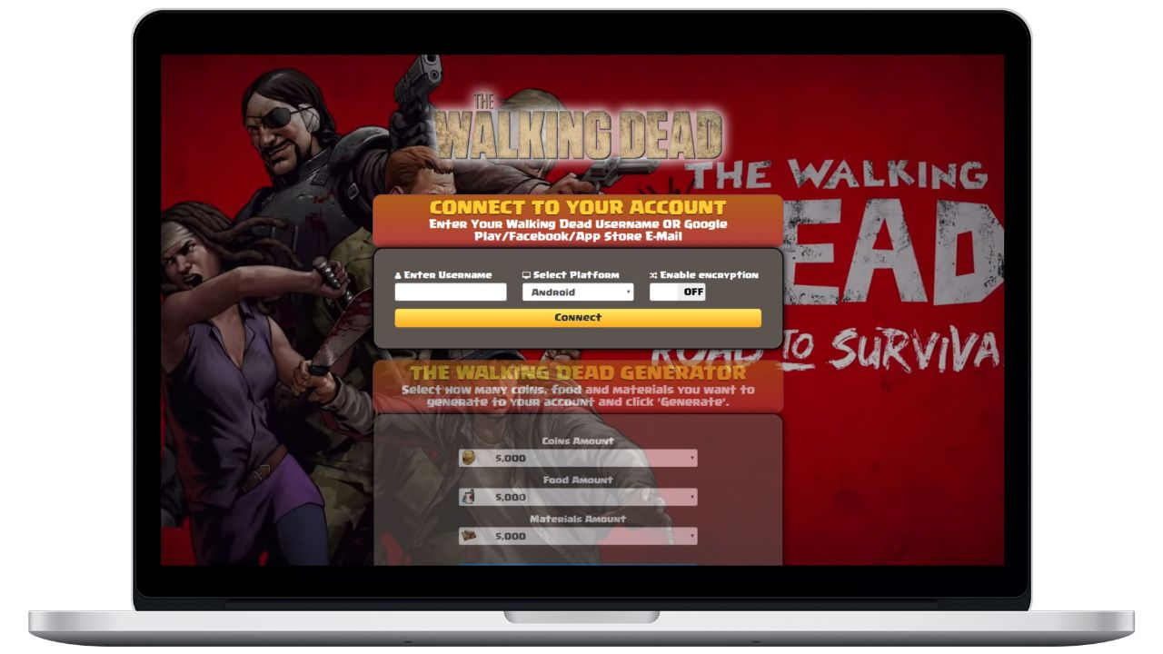 Walking Dead Road To Survival hack coins generator