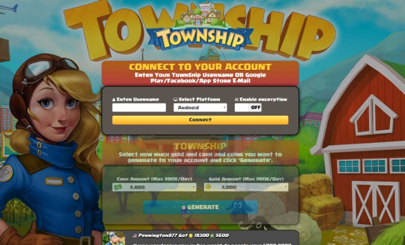 TownShip hack 2020