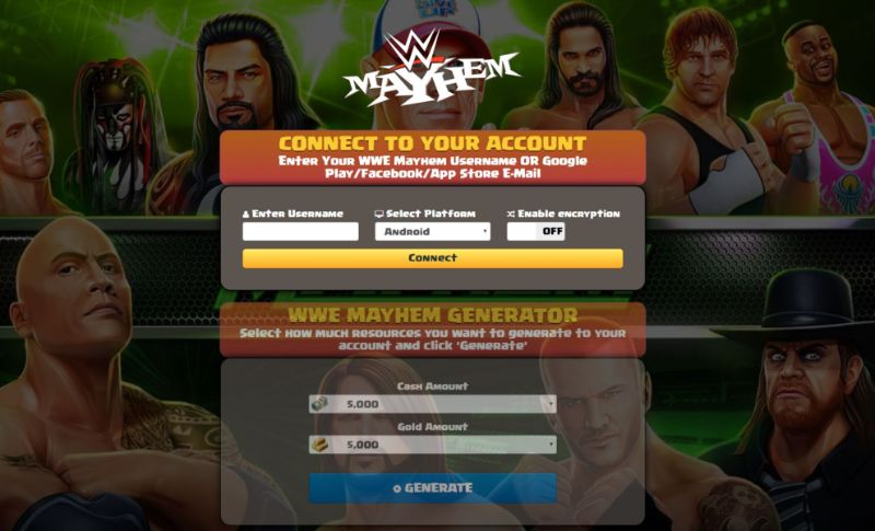 WWE Mayhem hack 2019