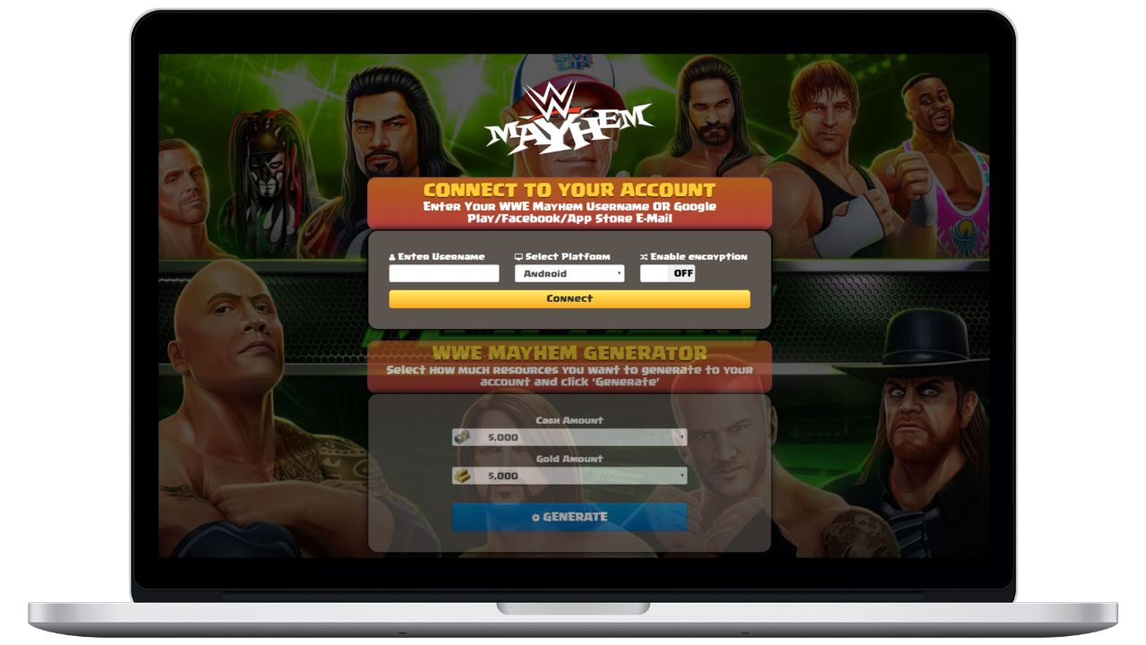 WWE Mayhem hack cash generator