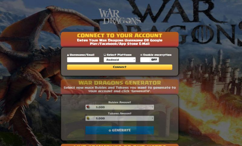 War Dragons hack 2019