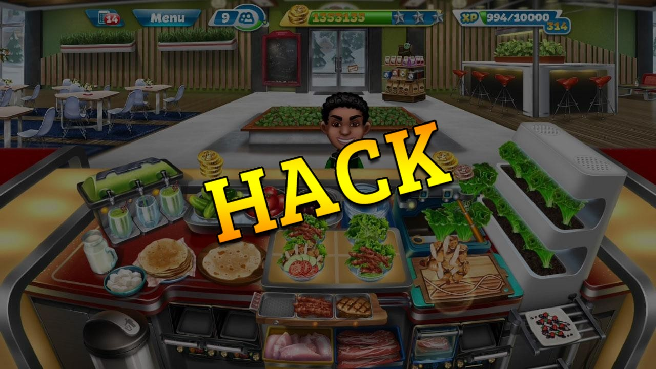 Cooking Fever hack tool 2019