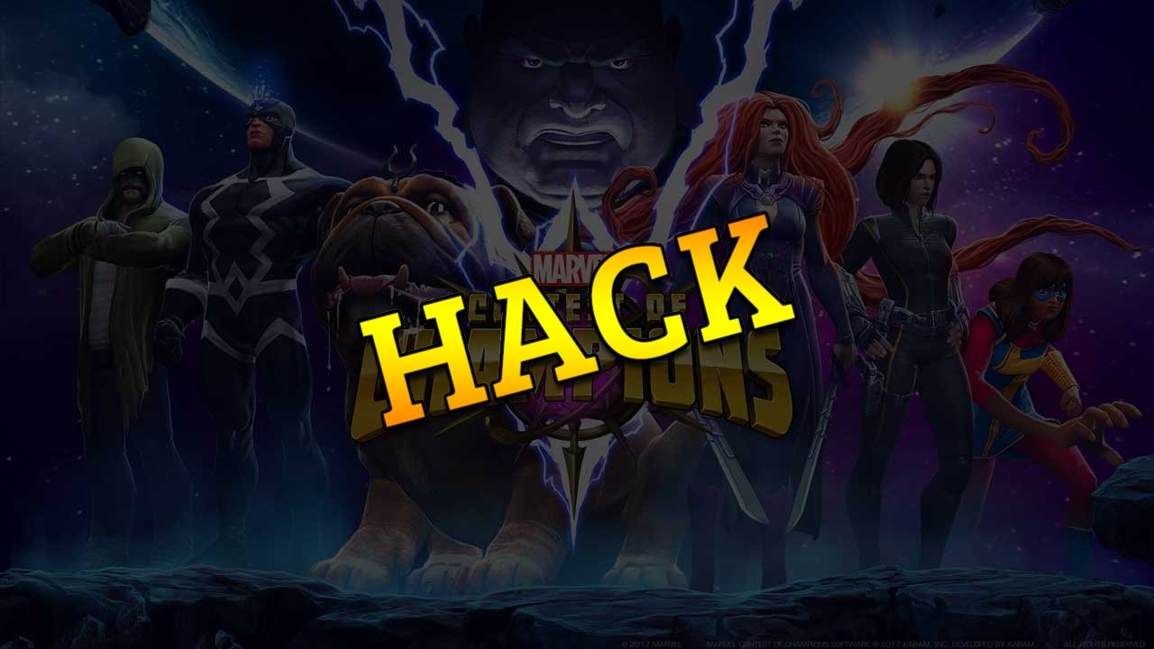 Marvel Contest of Champions hack tool 2019