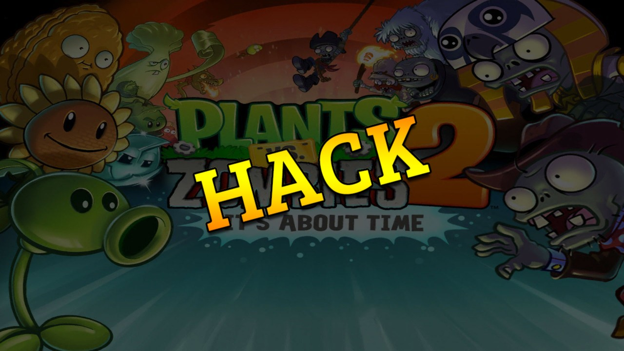 Plants vs Zombies 2 hack tool 2019